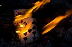 Gorąca Cribbage ręka Fotografia Royalty Free
