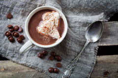 gorąca czekolada zdjęcie royalty free