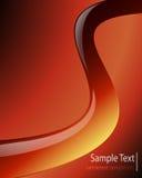 Gorąca czerwień ciepła Zdjęcie Stock