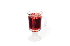 Gorąca czerwień rozmyślający wino zdjęcie royalty free