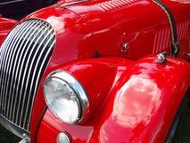 gorąca czerwone auto fotografia royalty free