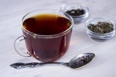 gorąca filiżanki herbata Zdjęcia Royalty Free