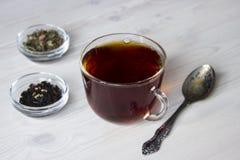 gorąca filiżanki herbata Obraz Stock