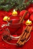 gorąca herbaciana zima Zdjęcia Stock
