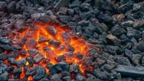Gorąca kuźnia używać blacksmiths Fotografia Stock
