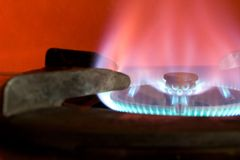 gorąca kuchenka Zdjęcia Stock