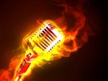 gorąca muzyka Obraz Stock