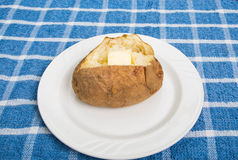 Gorąca Piec grula z klepnięciem masło Zdjęcie Royalty Free