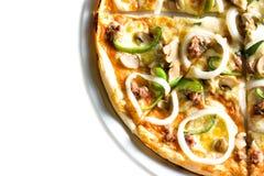 gorąca pizza jest wegetarianką Obrazy Royalty Free