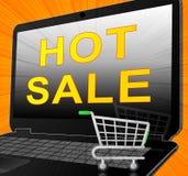 Gorąca sprzedaż Znaczy Best Rozdaje 3d ilustrację Zdjęcie Stock