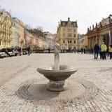 Gorąca wiosna przed Młyńską kolumnadą obraz royalty free