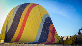 gorące balonowy wyładunku Zdjęcie Stock