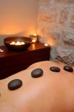 gorące kamienie masaży Obrazy Royalty Free