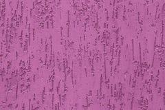 Gorące menchie embossed tynku tło Abstrakta wzór menchii ściany tekstura Cechowanie nawierzchniowi farby dekoracji tła zdjęcia royalty free