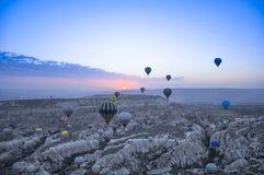 gorące powietrze ballone Zdjęcia Royalty Free