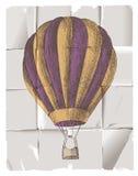 Gorące powietrze balon Fotografia Royalty Free