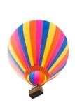 Gorące powietrze balon odizolowywający na bielu Zdjęcie Royalty Free