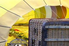Gorące Powietrze balon Przygotowywający Wzrastać Obrazy Stock