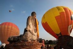Gorące powietrze balon w Tajlandia zawody międzynarodowi balonu festiwalu 2009 Fotografia Stock