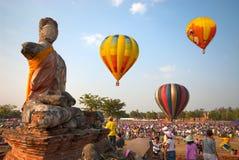 Gorące powietrze balon w Tajlandia zawody międzynarodowi balonu festiwalu 2009 Obrazy Stock