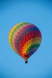 Gorące Powietrze Balonowa wysokość w niebie Zdjęcia Stock