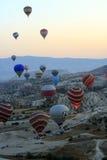 Gorące Powietrze balonu przejażdżka, Cappadocia Zdjęcia Stock