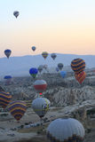 Gorące Powietrze balonu przejażdżka, Cappadocia Zdjęcie Stock