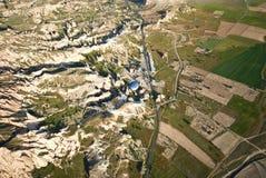 Gorące powietrze balonu przejażdżka w Cappadocia Fotografia Stock