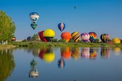gorące powietrze balony obrazy royalty free