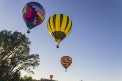 gorące powietrze balony Zdjęcie Stock