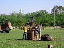 Gorące Powietrze festiwalu Capilla Del señor Buenos Aires Argentyna Balonowi 2005 Argentyńscy ludowi tanowie obrazy stock
