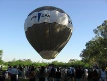 Gorące Powietrze festiwalu Capilla Del señor Buenos Aires Argentyna Balonowi 2005 Argentyńscy ludowi tanowie obrazy royalty free