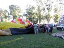 Gorące Powietrze festiwalu Capilla Del señor Buenos Aires Argentyna Balonowi 2005 Argentyńscy ludowi tanowie obraz stock