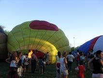 Gorące Powietrze festiwalu Capilla Del señor Buenos Aires Argentyna Balonowy 2005 argentyńczyk zdjęcie stock