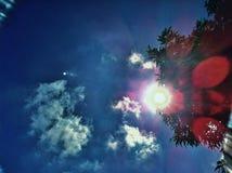 gorące słońce Fotografia Royalty Free