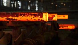 Gorące stell cegiełki Fotografia Royalty Free