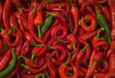 gorące tła pepper mokre Zdjęcia Royalty Free