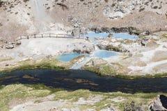 Gorące wiosny przy gorącą zatoczką geological Obraz Stock