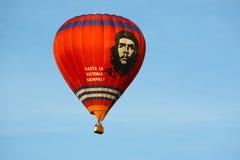 Gorącego powietrza che balonowy guevara obraz stock