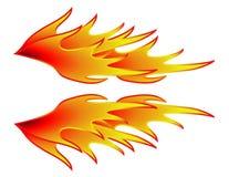 Gorącego Rod płomienie Obraz Stock
