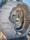 Gorącej balii Tahoe Jeziorna rzeźba, królewiątka Wyrzucać na brzeg obraz royalty free