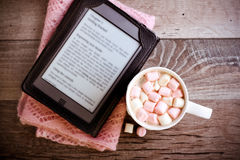 Gorącej czekolady napój z marshmallow Zdjęcia Stock