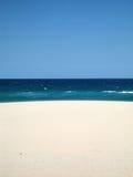 gorąco na plaży Fotografia Royalty Free