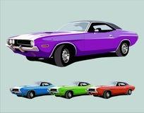 Gorący amerykański mięśnia samochód Zdjęcie Royalty Free