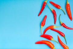 Gorący czerwonego chili pieprzu tło zdjęcie stock