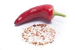 Gorący czerwony pieprz zdjęcia stock
