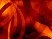 Gorący gorączkowy piekło abstrakta tło Obrazy Stock