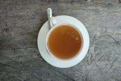 Gorący herbaciany dink fotografia stock
