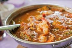 Gorący & Kwaśny curry z Obrazy Royalty Free