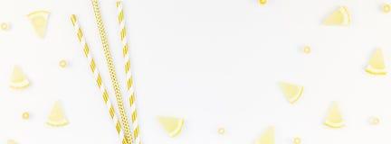 Gorący lata orzeźwienia lemoniady pomysł Fotografia Stock